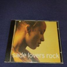 CDs de Música: SADE LOVERS ROCK. Lote 226470935