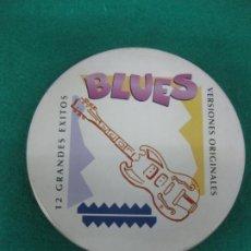 CDs de Música: BLUES 12 GRANDES EXITOS. VERSIONES ORIGINALES. CD MANDARIM RECORD 1996. Lote 226477585
