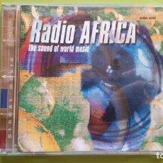 CDs de Música: RADIO ÁFRICA - THE SOUND OF WORLD MUSIC - 2000 - COMPRA MÍNIMA 3 EUROS. Lote 226596267