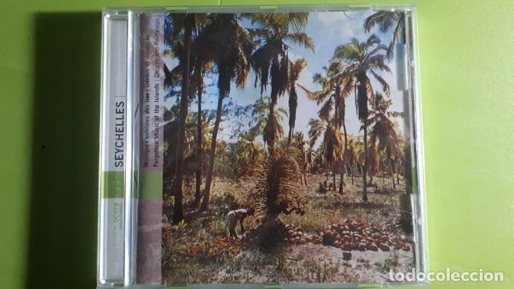 SEYCHELLES - MUSIQUES OUBLIEES - DANSES ET ROMANCES - 2002 - COMPRA MÍNIMA 3 EUROS (Música - CD's World Music)