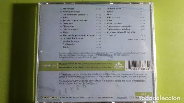 CDs de Música: SEYCHELLES - MUSIQUES OUBLIEES - DANSES ET ROMANCES - 2002 - COMPRA MÍNIMA 3 EUROS - Foto 2 - 226598280