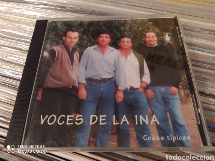 VOCES DE LA INA. COSAS TÍPICAS. CD. BUEN ESTADO - SEVILLANAS ROCIERAS (Música - CD's Otros Estilos)