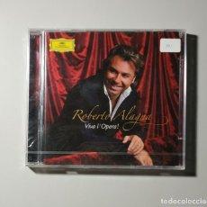 CDs de Música: 1120- ROBERT ALAGNA VIVA L OPERA ! CD NUEVO PRECINTADO !!. Lote 226625560