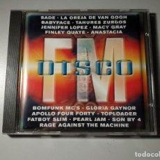 CDs de Música: 1120- DISCO FM RECOPILATORIO 2000 CD DISCO NUEVO LIQUIDACIÓN. Lote 226635515