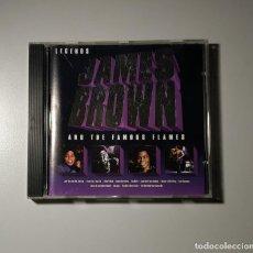CDs de Música: 1120- JAMES BROWN LEGENDS THE FAMOUS FLAMES CD DISCO NUEVO LIQUIDACIÓN. Lote 226636405