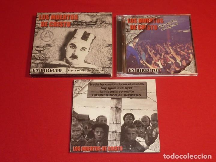 CDs de Música: LOS MUERTOS DE CRISTO BIENVENIDOS AL INFIERNO DOBLE CD + LIBRO COMPLETO - Foto 2 - 226642537