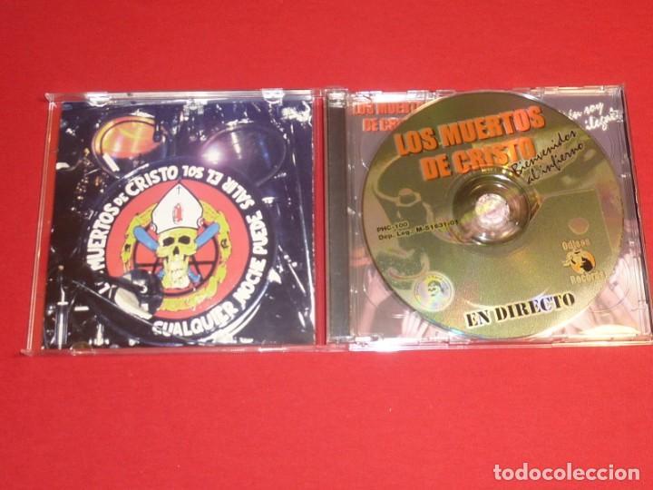 CDs de Música: LOS MUERTOS DE CRISTO BIENVENIDOS AL INFIERNO DOBLE CD + LIBRO COMPLETO - Foto 3 - 226642537