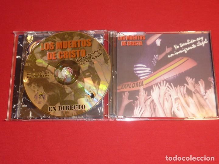 CDs de Música: LOS MUERTOS DE CRISTO BIENVENIDOS AL INFIERNO DOBLE CD + LIBRO COMPLETO - Foto 4 - 226642537