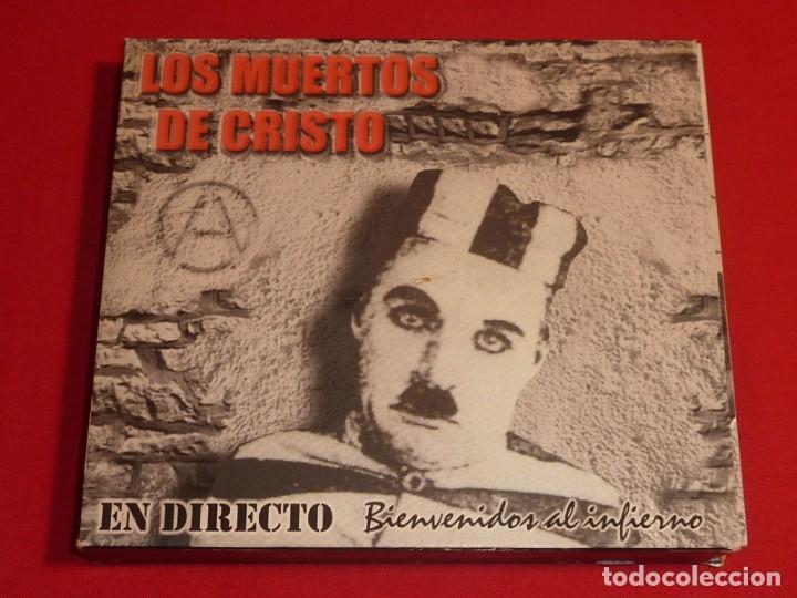 LOS MUERTOS DE CRISTO BIENVENIDOS AL INFIERNO DOBLE CD + LIBRO COMPLETO (Música - CD's Otros Estilos)