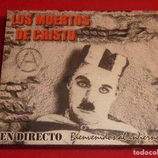 CDs de Música: LOS MUERTOS DE CRISTO BIENVENIDOS AL INFIERNO DOBLE CD + LIBRO COMPLETO. Lote 226642537