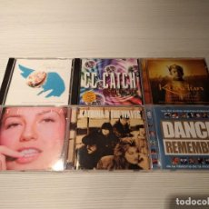 CDs de Música: LOTE 6 CD'S ORIGINALES DE VARIOS ESTILOS MUSICALES Y DIFERENTES ÉPOCAS. Lote 226659856