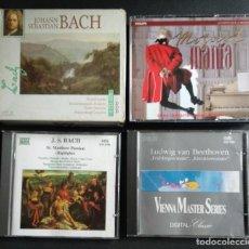 CDs de Música: LOTE 7 CD INTERESANTE - JOHAN S. BACH (CD TRIPLE + CD DOBLE + CD SENCILLO) / BEETHOVEN (CD SENCILLO. Lote 226755175