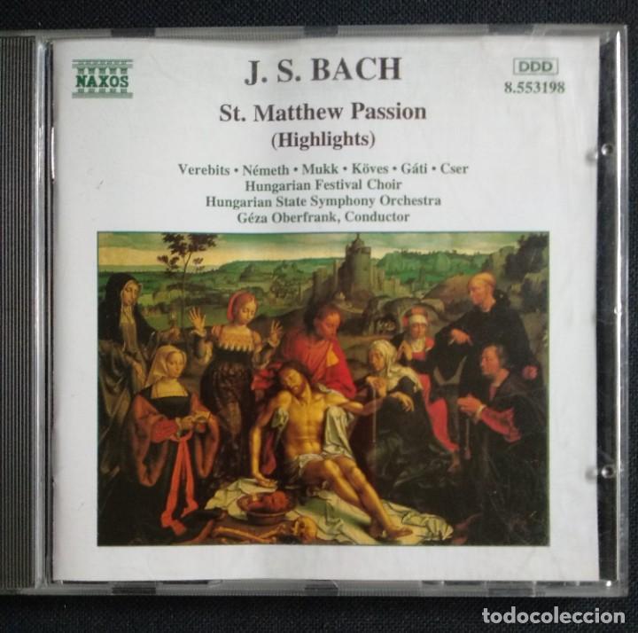 CDs de Música: Lote 7 CD interesante - JOHAN S. BACH (CD triple + CD doble + CD sencillo) / BEETHOVEN (CD sencillo - Foto 8 - 226755175