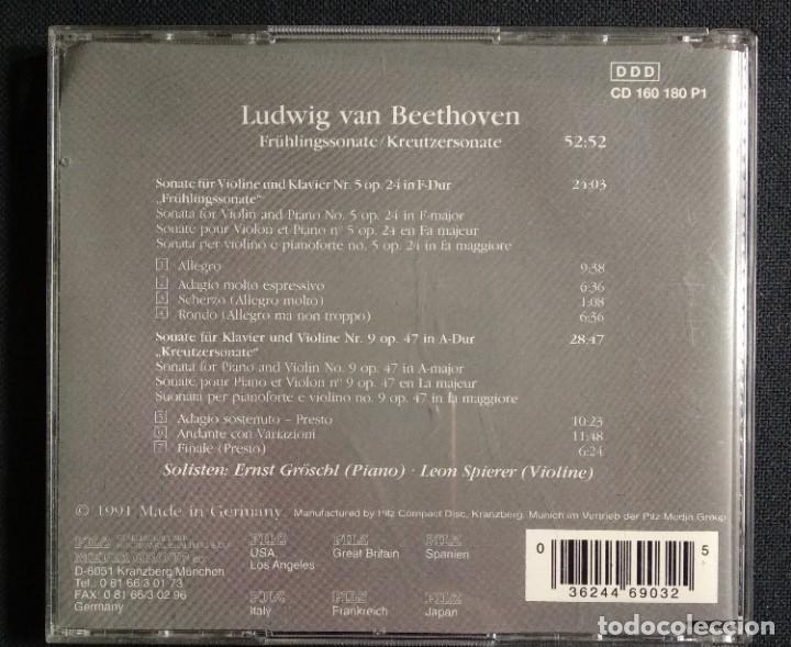 CDs de Música: Lote 7 CD interesante - JOHAN S. BACH (CD triple + CD doble + CD sencillo) / BEETHOVEN (CD sencillo - Foto 11 - 226755175