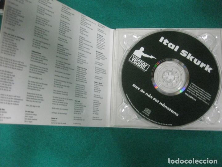 CDs de Música: ITAL SKURK. DET AR NAT FEL NANSTANS.. VESPER RECORDS 2004. - Foto 2 - 226828615