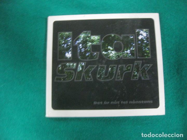 ITAL SKURK. DET AR NAT FEL NANSTANS.. VESPER RECORDS 2004. (Música - CD's Reggae)