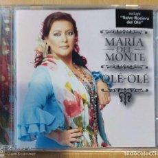 CDs de Música: MARIA DEL MONTE (OLE - OLE) CD 2004. Lote 226851300