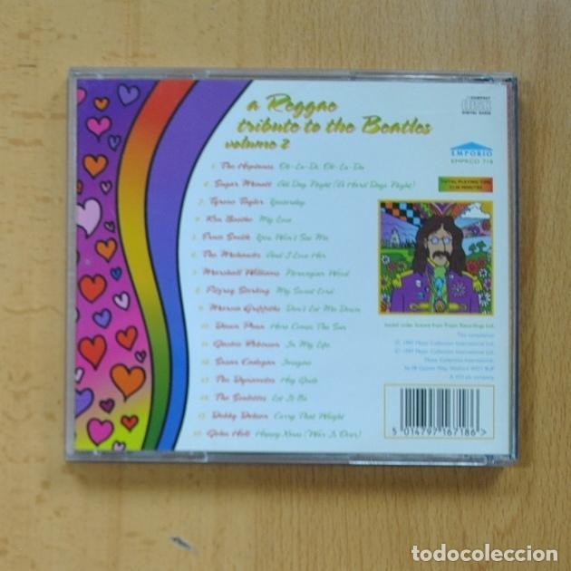 CDs de Música: VARIOS - A REGGAE TRIBUTE TO THE BEATLES VOLUME 2 - CD - Foto 2 - 226856832