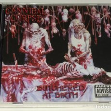 CDs de Música: CD CANNIBAL CORPSE - BUTCHERED AT BIRTH. Lote 226908490