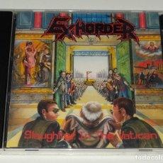 CDs de Música: CD EXHORDER - SLAUGHTER IN THE VATICAN. Lote 226908820