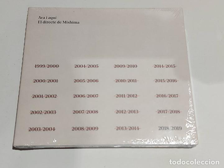 ARA I AQUÍ / EL DIRECTE DE MISHIMA / CD + DVD-2019 / 20 TEMAS / PRECINTADO. (Música - CD's Pop)
