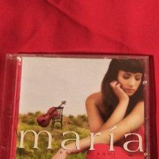 CDs de Música: CD MARÍA VILLALON TE ESPERO AQUÍ. Lote 226919470