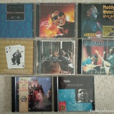 CDs de Música: LOTE MAGNÍFICO JAZZ Y BLUES - ROBERT JOHNSON / RAY CHARLES / MUDDY W. / B.B KING / ALBERT KING. Lote 226988265