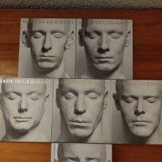CDs de Música: RAMMSTEIN. MADE IN GERMANY. EDICIÓN ESPECIAL DELUXE. 2 CDS 3 DVDS Y LIBRO. SIN CAJA. DESCATALOGADO. Lote 227101912