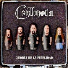 CDs de Música: CENTINELA - TEORIA DE LA FIDELIDAD. Lote 227117170