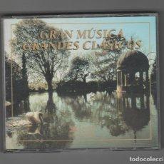 CDs de Música: GRAN MUSICA- GRANDES CLASICOS. Lote 227123750