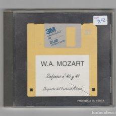 CDs de Música: W.A.MOZART-SINFONIA Nº 40 Y 41. Lote 227125300