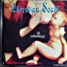 CDs de Música: CHRISTIAN DEATH - ICONOLOGIA (ROZZ WILLIAMS). Lote 227127195