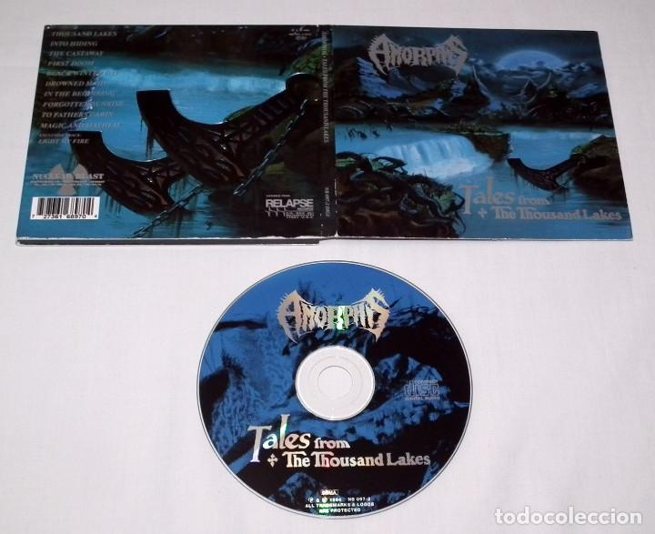 CDs de Música: AMORPHIS LOTE DE 2 CDS - Foto 3 - 201832487