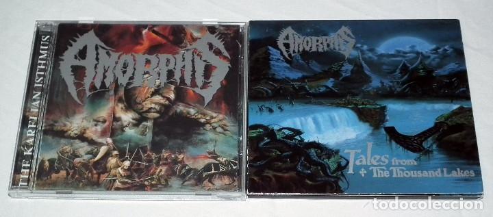 AMORPHIS LOTE DE 2 CDS (Música - CD's Heavy Metal)
