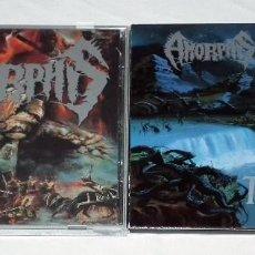 CDs de Música: AMORPHIS LOTE DE 2 CDS. Lote 201832487