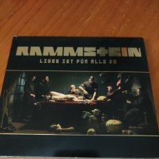 CDs de Música: RAMMSTEIN. LIEBE IST FÜR ALLE DA. Lote 227273976