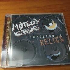 CDs de Música: CD MOTLEY CRUE. SUPERSONICS RELICS. Lote 227275595
