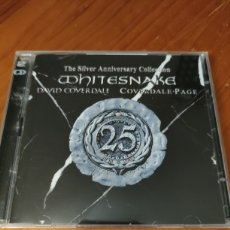 CDs de Música: DOBLE CD WHITESNAKE. THE SILVER ANNIVERSARY COLLECTION. Lote 227275960