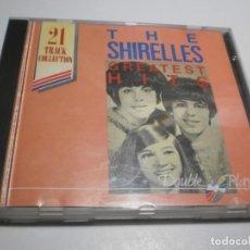CDs de Música: CD THE SHIRELLES. GREATEST HITS. MCPS 21 TEMAS (BUEN ESTADO). Lote 227279130