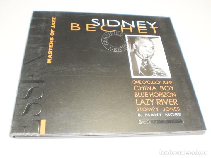 CD SIDNEY BECHET. PROPER RECORDS 1998 20 TEMAS (SEMINUEVO) (Música - CD's Jazz, Blues, Soul y Gospel)