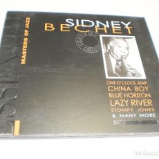 CDs de Música: CD SIDNEY BECHET. PROPER RECORDS 1998 20 TEMAS (SEMINUEVO). Lote 227279775