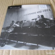 CDs de Música: FASTBALL-LOVE IS EXPENSIVE AND FREE. Lote 227444930