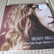 CDs de Música: BEADY BELLE - WHEN MY ANGER STARTS TO CRY. Lote 227445000