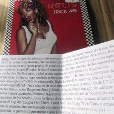 CDs de Música: KELIS / TRICK ME (CD SINGLE 2004)CADENA 100. Lote 227447240