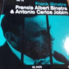 CDs de Música: FRANK SINATRA FRANCIS ALBERT SINATRA AND ANTONIO CARLOS JOBIM MI VOZ CD COLECCION EL PAIS. Lote 227452330