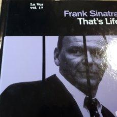 CDs de Música: FRANK SINATRA THAT S LIFE MI VOZ CD COLECCION EL PAIS. Lote 227452800