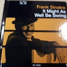 CDs de Música: FRANK SINATRA IT MIGHT AS WELL BE SWING MI VOZ CD COLECCION EL PAIS. Lote 227454365