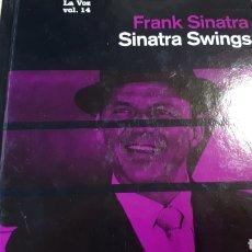 CDs de Música: FRANK SINATRA SINATRA SWINGS MI VOZ CD COLECCION EL PAIS. Lote 227454670