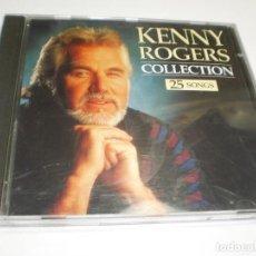 CDs de Música: CD KENNY ROGERS. COLLECTION 25 SONGS. THE COLLECTION 1993 HOLLAND (BUEN ESTADO). Lote 227463265