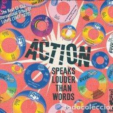 CDs de Música: ACTION - SPEAKS LOUDER THAN WORDS. Lote 227469260